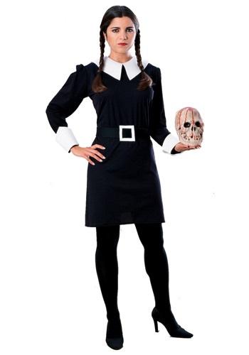 Disfraz de Merlina Addams para adulto