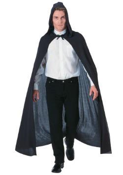 Capa negra con capucha