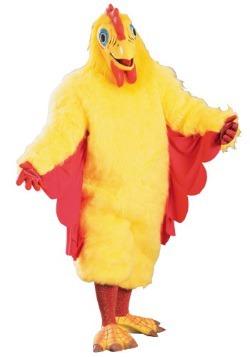 Disfraz de mascota pollo para adulto