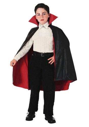 Capa de vampiro reversible infantil