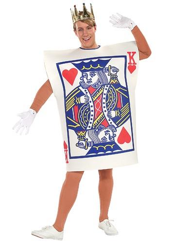 Disfraz de naipe de Rey de Corazones