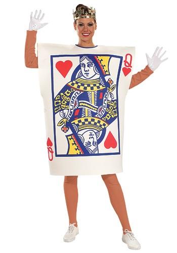 Disfraz de naipe de la Reina de Corazones