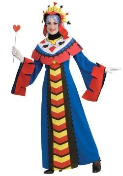 Disfraz de naipe de Reina de Corazones
