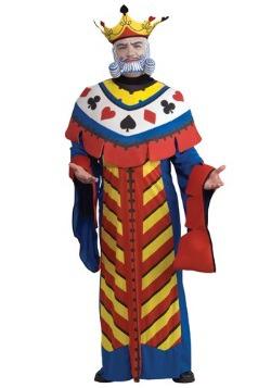 Disfraz de naipe Rey de Corazones