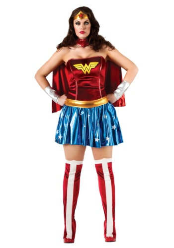 Disfraz de Wonder Woman talla extra