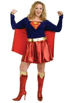 Disfraz de Supergirl para adulto talla extra