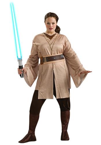 Disfraz de Jedi para mujer talla extra