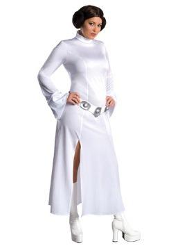 Disfraz de princesa Leia talla extra