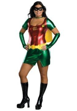 Disfraz de chica Robin talla extra