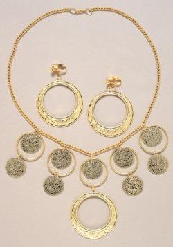 Conjunto de joyas de gitano