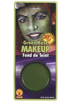 Maquillaje facial verde