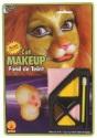 Maquillaje facial de león