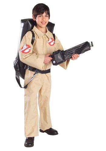 Disfraz de cazafantasmas para niños