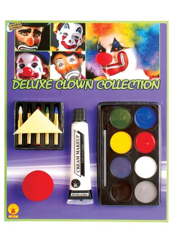 Kit de maquillaje de payaso