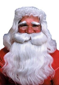 Peluca y barba recta de Santa