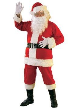 Disfraz de Santa de franela