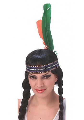 Cinta para la cabeza de nativos americanos con plumas