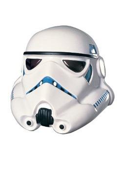 Máscara de Stormtrooper de PVC
