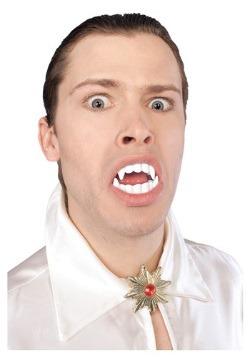Colmillos de vampiro blancos