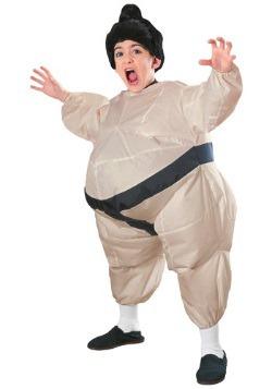 Disfraz de sumo inflable para niños