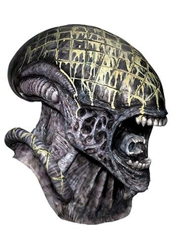 Máscara de látex de Alien de lujo