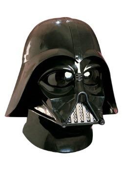 Casco de dos piezas de Darth Vader deluxe