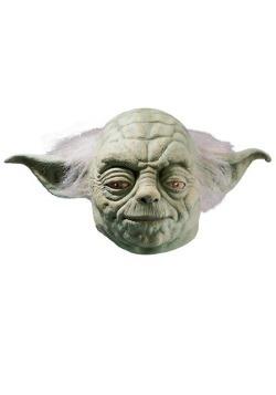 Máscara de Yoda de látex deluxe