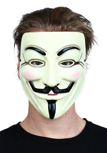 Máscara de V de vendetta