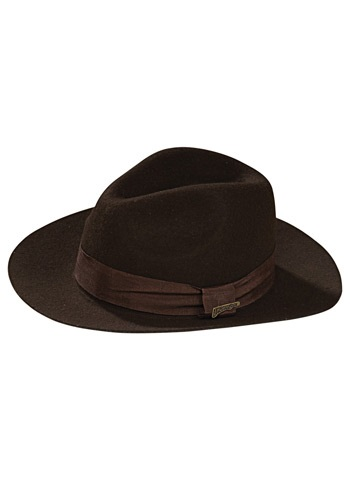 Sombrero Indiana Jones deluxe para niños