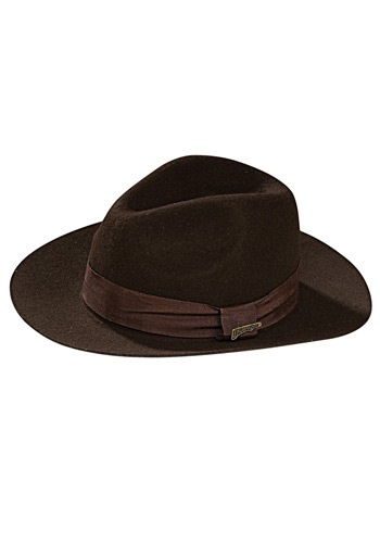 Sombrero de Indiana Jones deluxe para adulto