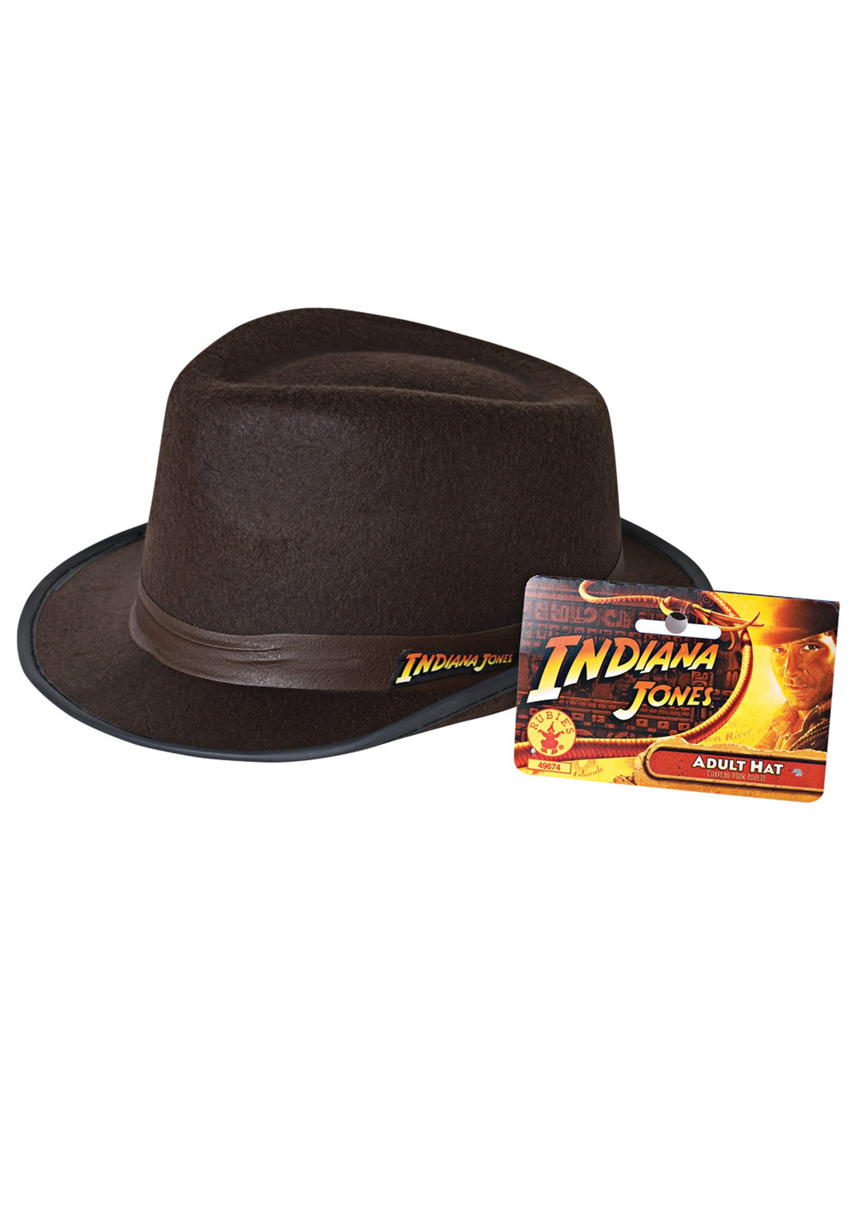 54e18de21e3f9 Sombrero de Indiana Jones para adulto