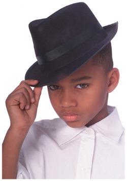 Sombrero de gángster infantil