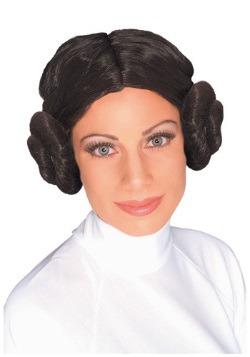 Peluca de lujo de la princesa Leia