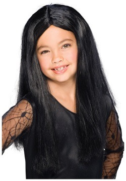 Peluca infantilde bruja negra