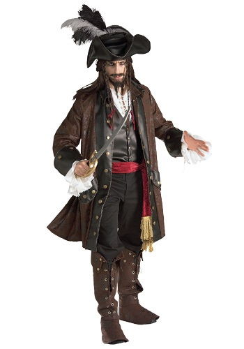 Disfraz auténtico de Pirata del Caribe para adulto