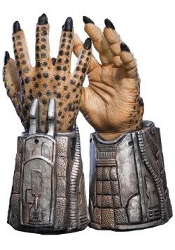 Manos de depredador de látex para niños