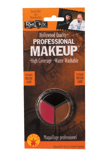 Maquillaje facial de espantapájaros