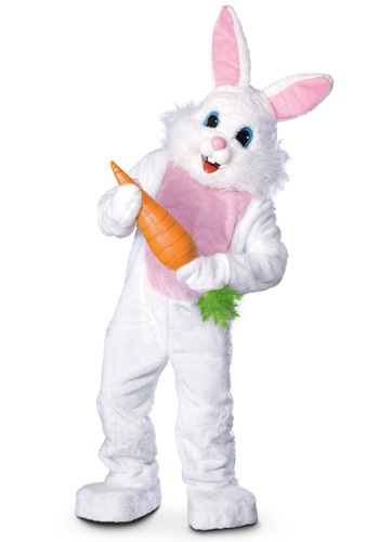 Disfraz de mascota conejito de Pascua