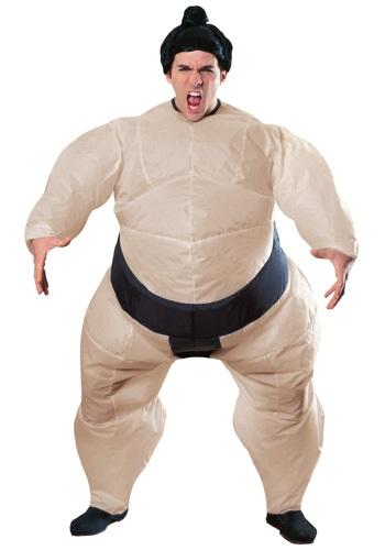 Disfraz de sumo inflable para hombre