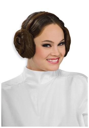 Tocado de moños Princesa Leia