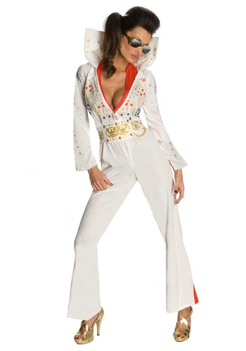 Disfraz mameluco de Elvis sexy