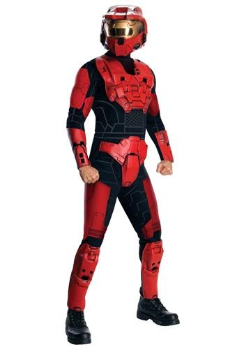Disfraz de lujo de Red Spartan de Halo