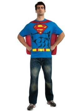 Disfraz camiseta de Superman