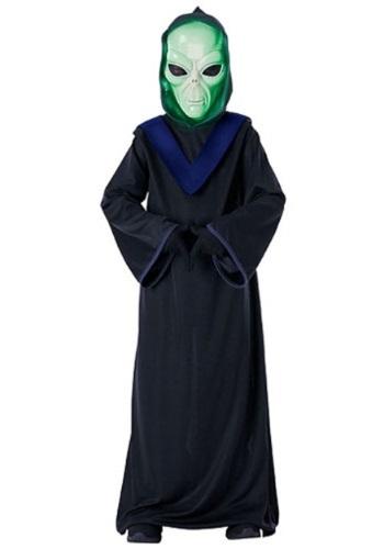 Disfraz de alien para niños