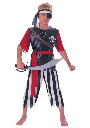 Disfraz infantil de rey pirata