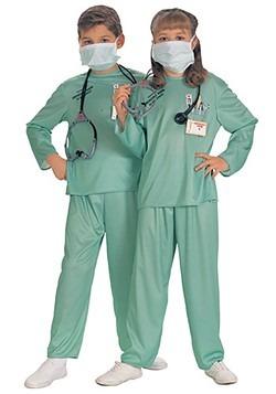 Disfraz infantil de médico ER
