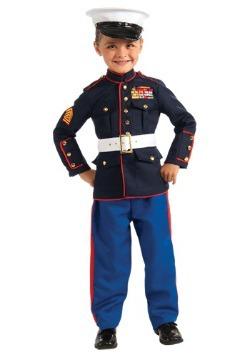 Disfraz infantil de uniforme de Oficial de Marina