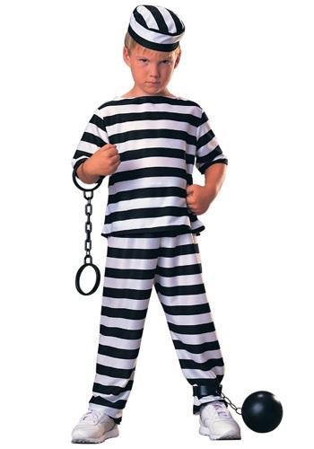 Disfraz de prisionero para niños