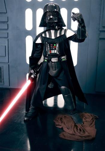 Disfraz infantil de Darth Vader deluxe