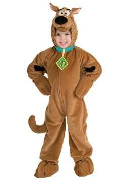 Disfraz infantil deluxe de Scooby Doo